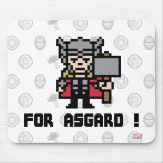 8Bit Thor - For Asgard! Mouse Pad