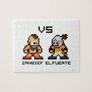 8bit Zangief VS El Fuerte Puzzles