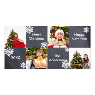 8H ajuste le tableau - carte photo de Noël Photocarte