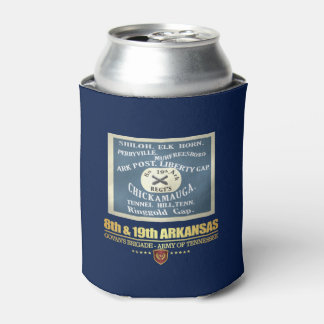 8th & 19th Arkansas Infantry (F10) Can Cooler