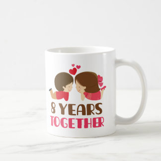 8th Anniversary Gift For Her Coffee Mug