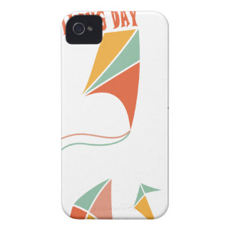 8th February - Kite Flying Day - Appreciation Day Case-Mate iPhone 4 Cases