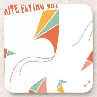 8th February - Kite Flying Day - Appreciation Day Coaster