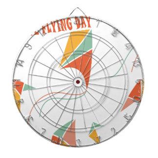 8th February - Kite Flying Day - Appreciation Day Dartboard