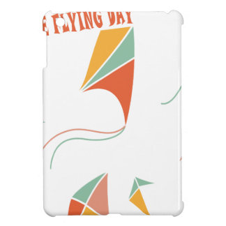 8th February - Kite Flying Day - Appreciation Day iPad Mini Cover