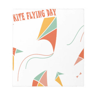 8th February - Kite Flying Day - Appreciation Day Notepad