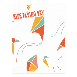 8th February - Kite Flying Day - Appreciation Day Postcard