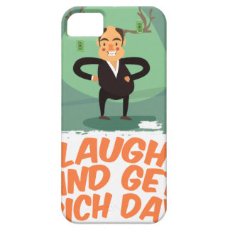 8th February - Laugh And Get Rich Day iPhone 5 Covers