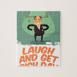8th February - Laugh And Get Rich Day Jigsaw Puzzle