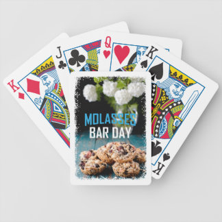 8th February - Molasses Bar Day - Appreciation Day Bicycle Playing Cards