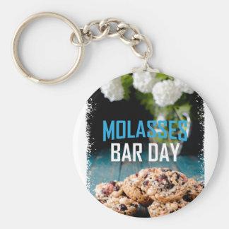 8th February - Molasses Bar Day - Appreciation Day Keychain