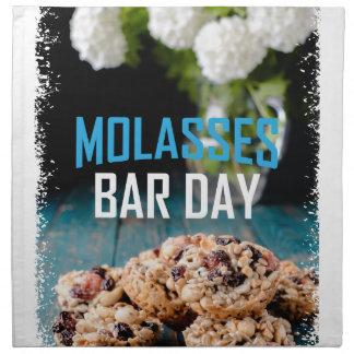 8th February - Molasses Bar Day - Appreciation Day Napkin