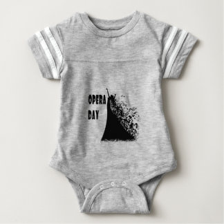 8th February - Opera Day - Appreciation Day Baby Bodysuit