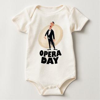8th February - Opera Day - Appreciation Day Baby Bodysuit