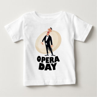 8th February - Opera Day - Appreciation Day Baby T-Shirt