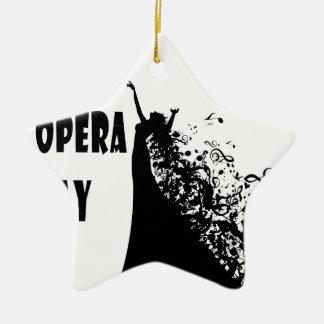 8th February - Opera Day - Appreciation Day Ceramic Ornament