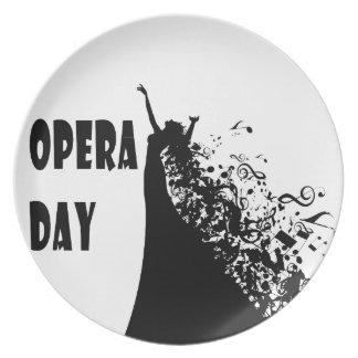 8th February - Opera Day - Appreciation Day Plate