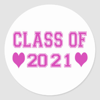 8th Grade Class of 2021 Stickers