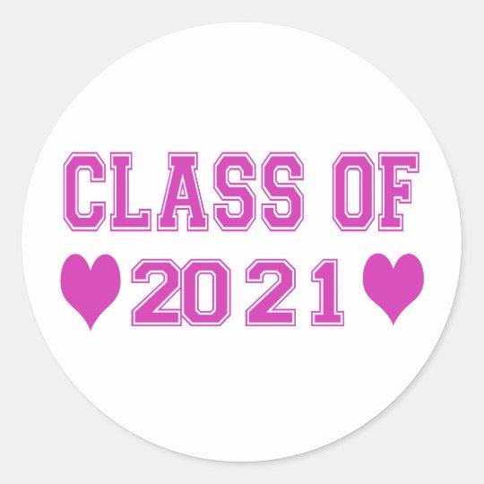 8th Grade Class of 2021 Stickers