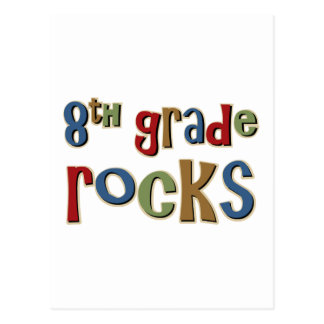 8th Grade Rocks Eighth Postcard