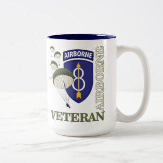 8th ID Abn Two-Tone Coffee Mug