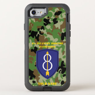 8th INFANTRY BRIGADE OtterBox Defender iPhone 7 Case