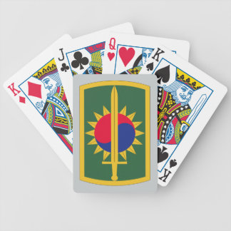 8th Military Police Brigade Bicycle Playing Cards
