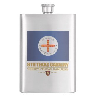8th Texas Cavalry Hip Flask