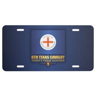 8th Texas Cavalry License Plate