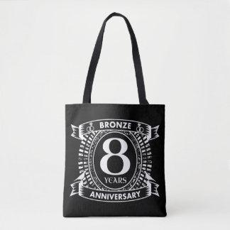 8TH wedding anniversary bronze Tote Bag