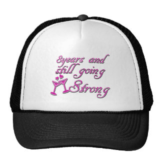 8th wedding anniversary hats