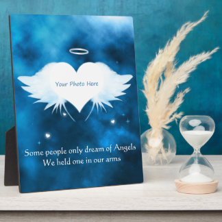 8x10 Display Plaque With Easel- Angel of the Heart