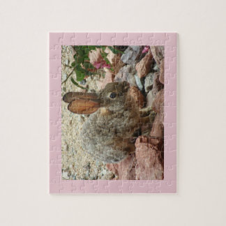 8x10 Puzzle with gift box - Bunny In Pink