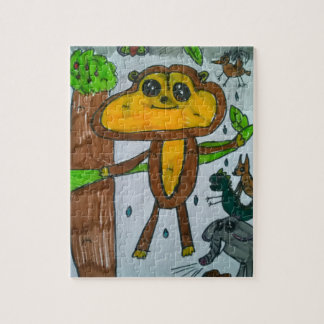 8x10 Rainforest Puzzle with Gift Box