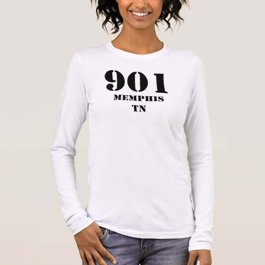 901 Memphis TN Long Sleeve T-Shirt