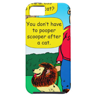 901 Why is dog dressed like a cat cartoon Case For The iPhone 5