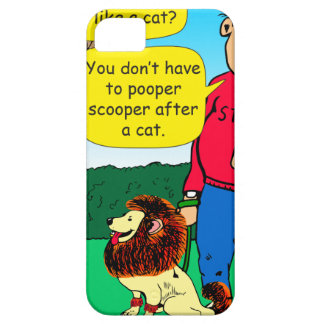 901 Why is dog dressed like a cat cartoon iPhone 5 Case