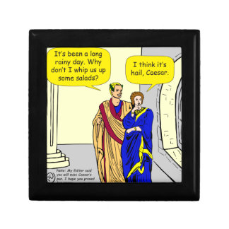 "902 Caesar ""I'll make a salad"" cartoon Gift Box"