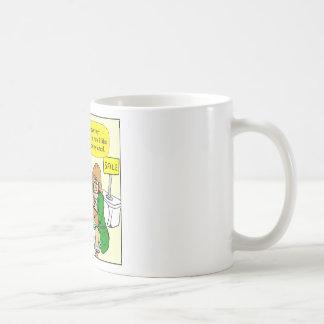 903 Grandma is checking email cartoon Coffee Mug