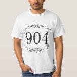 904 Area Code Tee Shirts