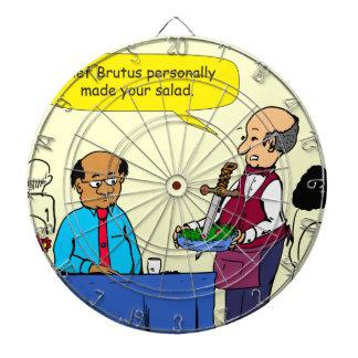 904 Chef Brutus made the salad cartoon Dartboard
