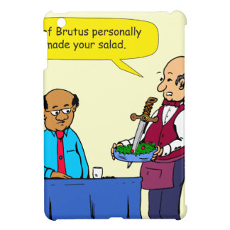 904 Chef Brutus made the salad cartoon iPad Mini Case