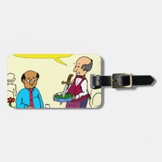 904 Chef Brutus made the salad cartoon Luggage Tag