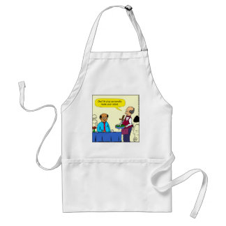 904 Chef Brutus made the salad cartoon Standard Apron