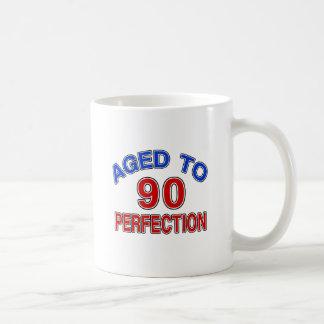 90 Aged To Perfection Coffee Mug