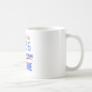 90 birthday design coffee mug