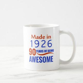 90 birthday design coffee mug