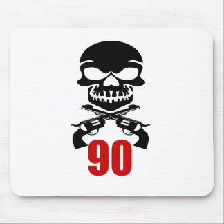 90 Birthday Designs Mouse Pad