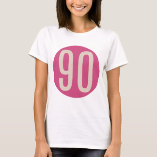 90 Fuchsia - Sporty T-Shirt