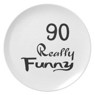 90 Really Funny Birthday Designs Plates